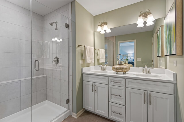 Master Bathroom - with Standing Shower