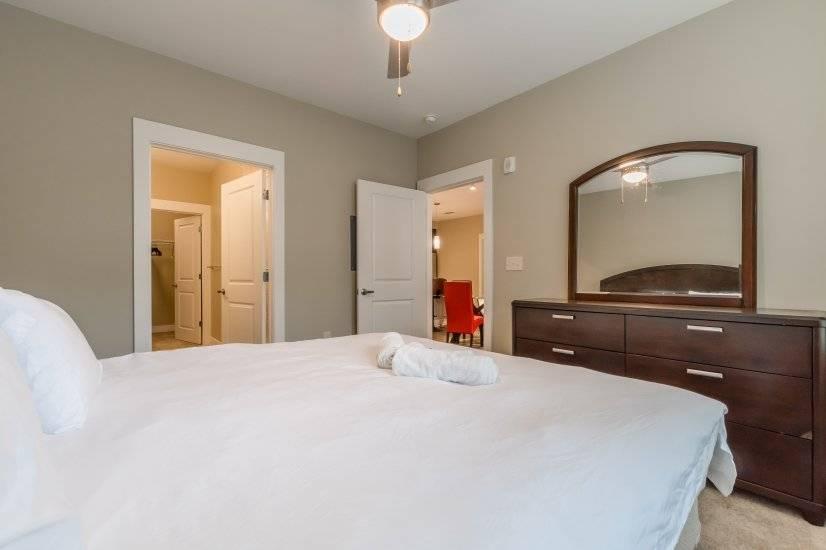 Bedroom #1 with In-Suite Bathroom and Walk-In Closet