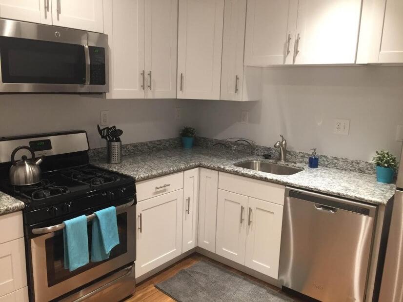 Kitchen new in 2016.