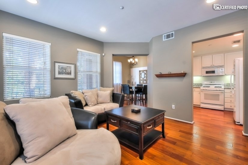image 2 furnished 1 bedroom Townhouse for rent in Irvine, Orange County