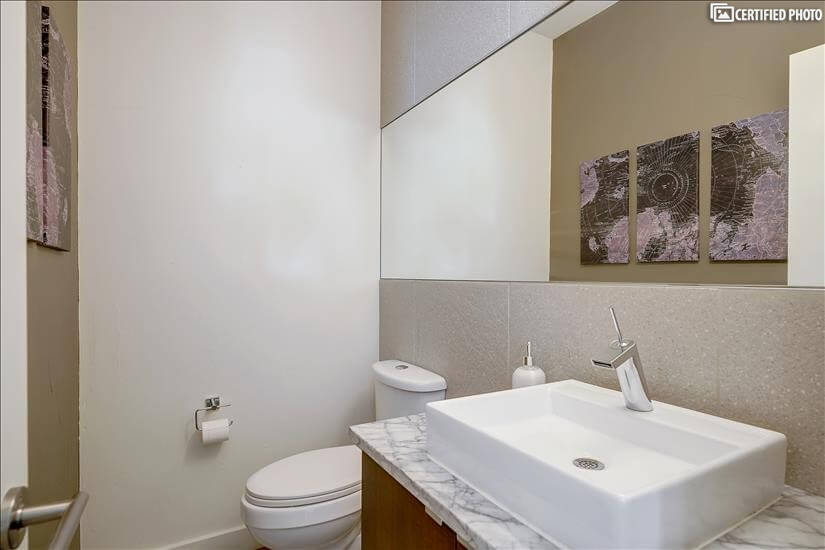 Living Room Bathroom (Next to Office)