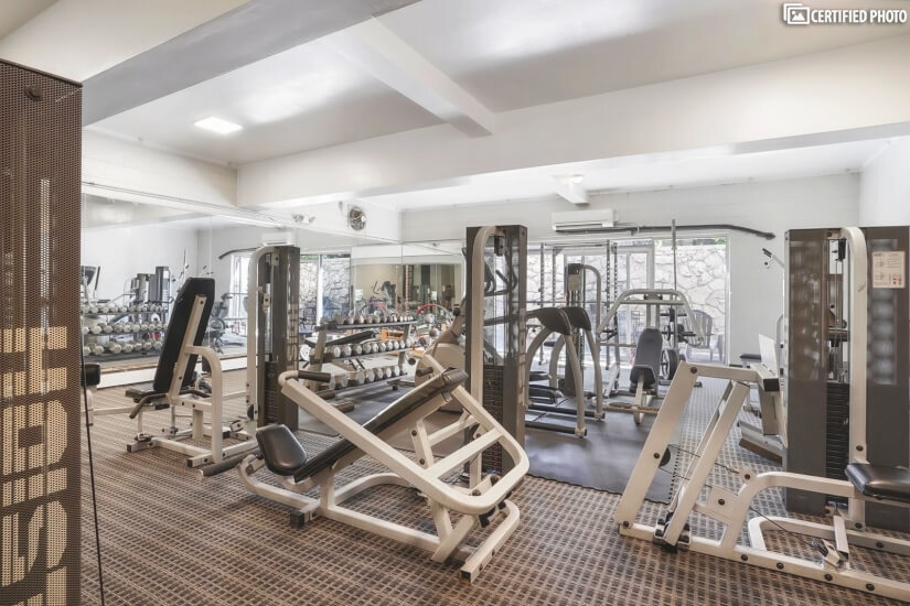 Building work-out facility