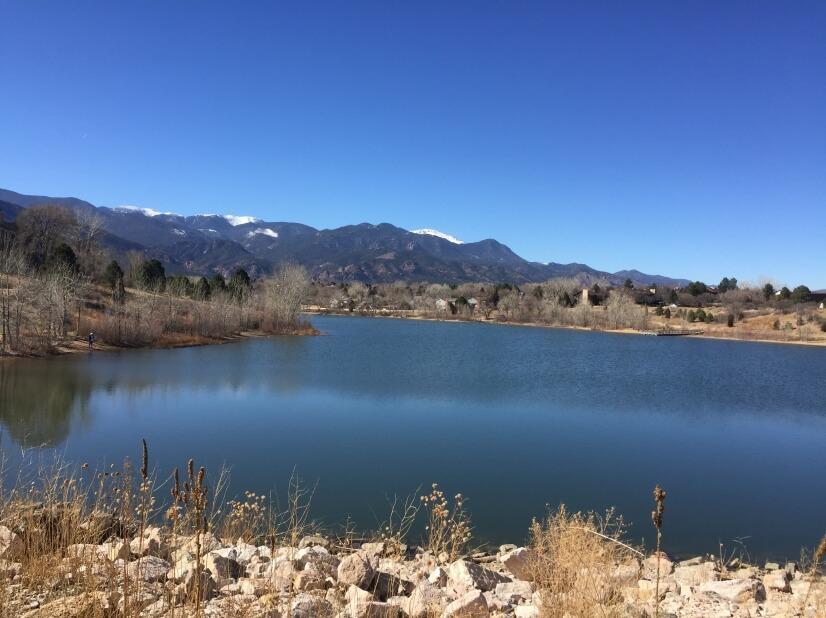 Quail Lake Across the Street