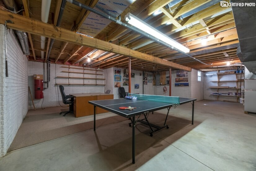 Two Desks and Ping Pong