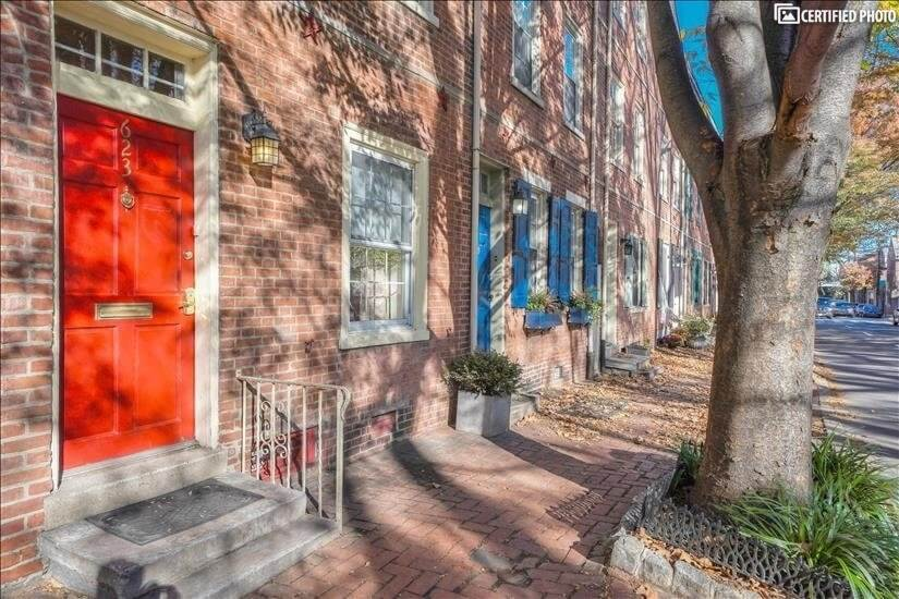 Historic Brick Townhouse