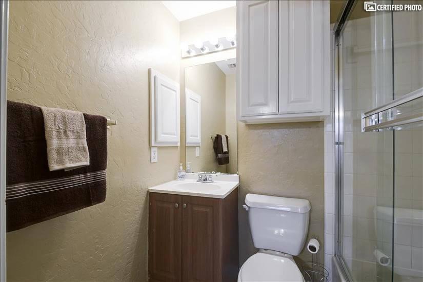 Second Bedroom En-Suite Bathroom