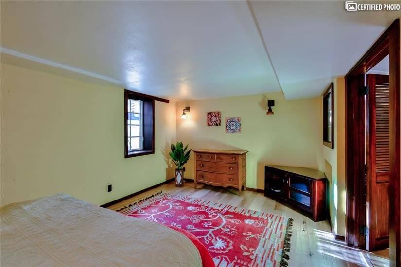 Basement Bedroom private