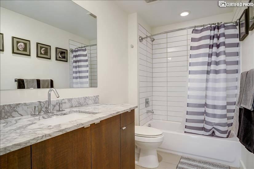 Guest Bathroom w/ Tub on Third Floor