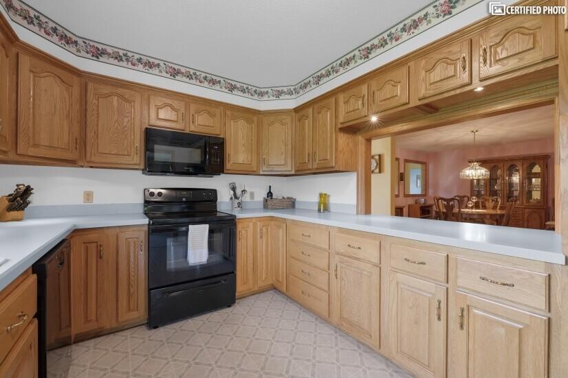 Kitchen with Pass Thru