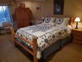 Rustic Queen bed