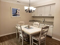 Dining room can seat up to 6; has buffet coun...