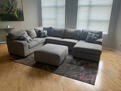 Oversized living room sectional