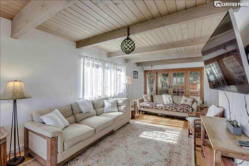 Sausalito Furnished house  Den view