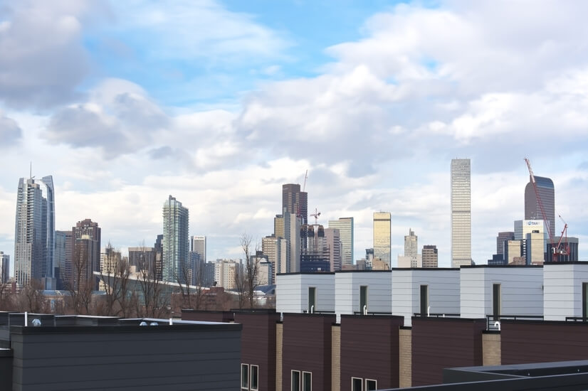 City View from Roof deck