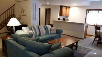 Family room from entrance