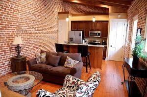 Living Room & Kitchen Living Room & Kitchen