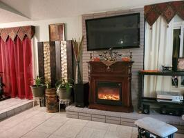 Fireplace in Living