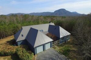 House with Fort Mtn.