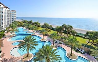 Diamond Beach Resort - Looking East From Priv