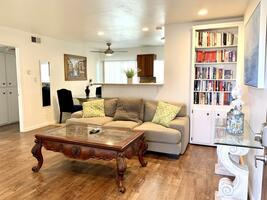 Awesome living room with natural light &  bre