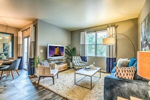 Living Room of 2 bedroom (color theme varies)