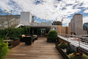 Private penthouse terrace