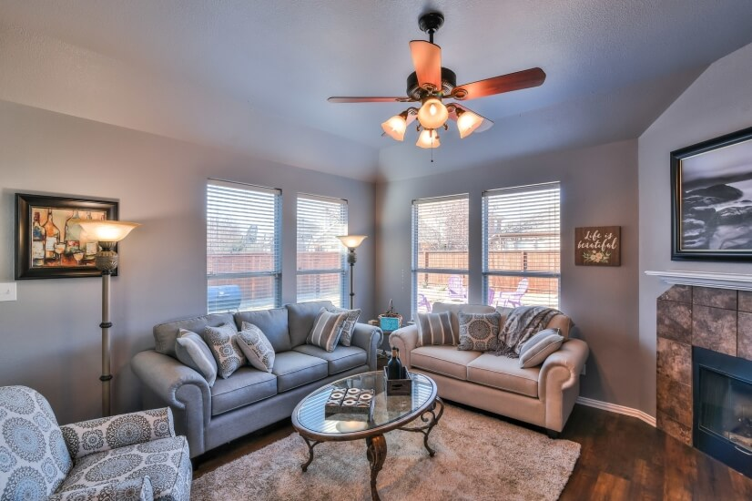 Main Living Area with comfortable seating and