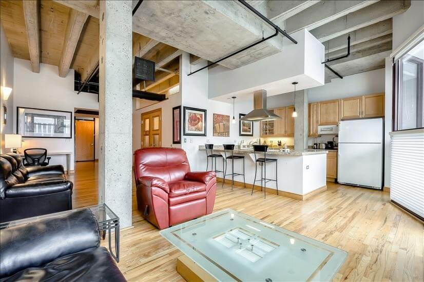 Downtown Denver Fully Furnished Condo