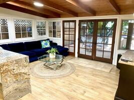 Gorgeous Living room overlooking your private yard