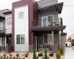 Enjoy city views from the patio or deck off master