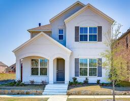 Front View Frisco corporate housing rental ho