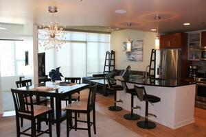 Furnished 33rd Floor corporate rental downtow