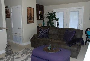 Comfortable open living space