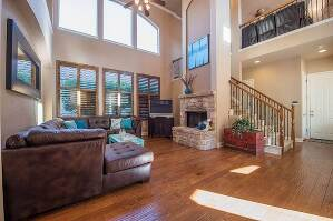 Living Room with Lots of Natural Light
