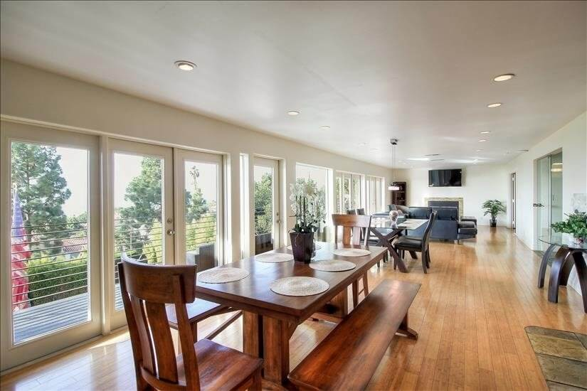Furnished Ocean View Top 2 Level