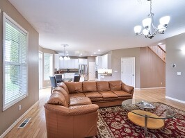 Family room and kitchen_2