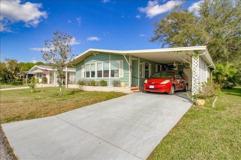 Furnished rental 55 & older community