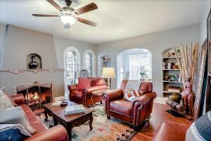 Cozy, Warm Living Room.