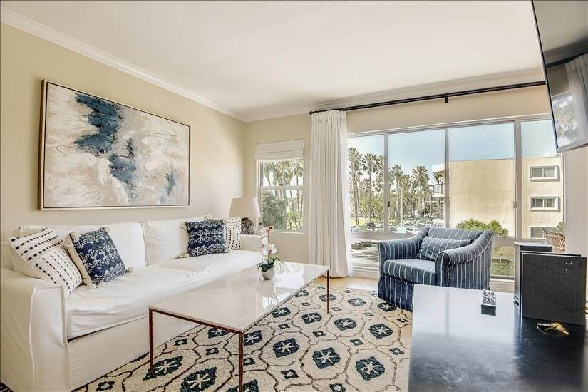 Furnished One Bedroom Ocean View