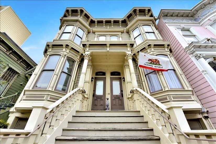 Pacific Heights Furnished Townhouse
