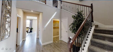 spacious area with open concept and high ceil