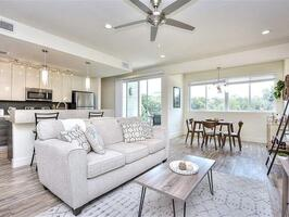 Beautiful, sunny, inviting living space.