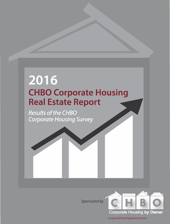 Investors and Lodgers are Choosing Monthly Residential Rentals - CHBO Launches 8th Annual CHBO Corporate Housing Real Estate Survey